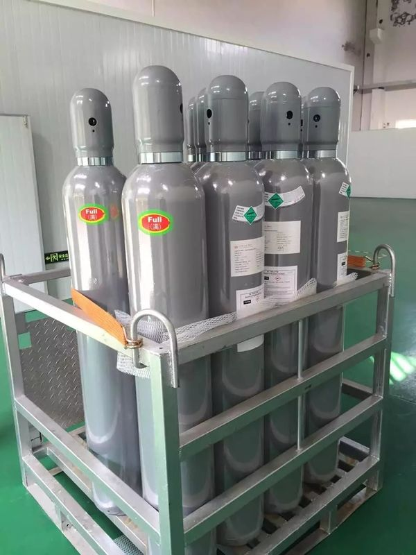 H2S Colorless Hydrogen Sulfide Gas , Liquefied Compressed Gas 99.5% Purity